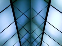 Transparent ceiling Royalty Free Stock Images