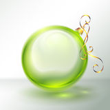 Transparent Christmas Ball Royalty Free Stock Image