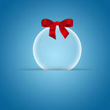 Transparent Christmas ball Royalty Free Stock Photography