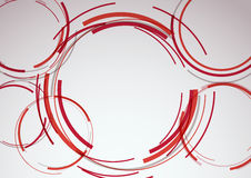 Transparent circle elements on a modern colorful b Royalty Free Stock Image