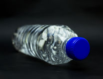 Transparent clean bottle. Stock Photos