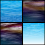 Transparent clouds Royalty Free Stock Photography