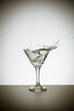 Transparent cocktail Royalty Free Stock Photography