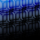 Transparent cube Royalty Free Stock Photo
