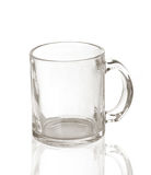 Transparent cup Royalty Free Stock Images