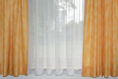 Transparent curtain Royalty Free Stock Image