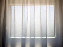 Transparent curtain Royalty Free Stock Photo