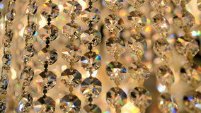 Transparent diamond heap, stock video footage