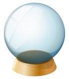A transparent dome stock illustration
