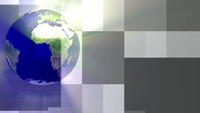 Transparent Earth stock video