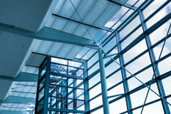 Transparent elevator Royalty Free Stock Images