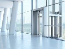 Transparent elevator Royalty Free Stock Photos