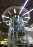 Transparent Elevator Shaft Royalty Free Stock Photography