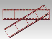 Transparent Film Strips Stock Photos