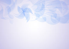 Transparent floral pattern background Stock Photography