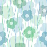 Transparent flower background Stock Images