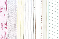 Transparent gift ribbons Stock Image