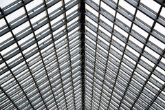 Transparent glass ceiling Royalty Free Stock Photography