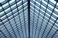 Transparent glass ceiling. Stock Photos