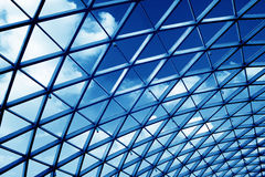 Transparent glass ceiling Royalty Free Stock Photos