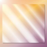 Transparent glass on a color background vector.  Stock Photography
