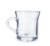 Transparent glass Cup Royalty Free Stock Photography