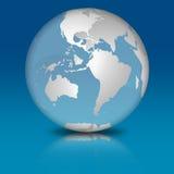 Transparent Glass Globe stock photos