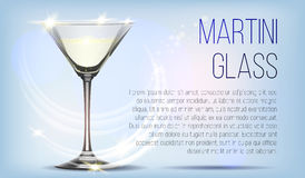 Transparent glass goblets royalty free illustration