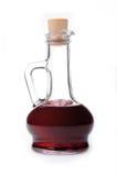 Transparent glass jug with a drink. Stock Photos