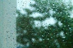 glass rain Stock Image