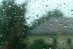 glass rain Royalty Free Stock Photo