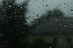 glass rain Royalty Free Stock Photos