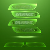 Transparent glass texture plate template background image Stock Photos