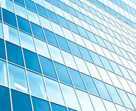 Transparent glass wall Royalty Free Stock Photography