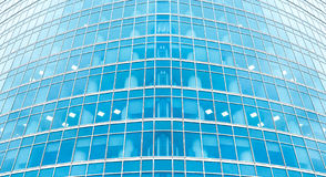 Transparent glass wall Royalty Free Stock Photos