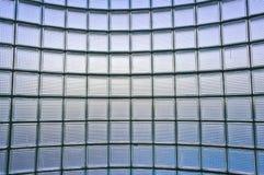 Transparent glass wall pattern Stock Photo