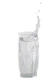 Transparent glass for water Stock Photo