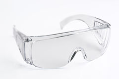 Transparent glasses safety Royalty Free Stock Images