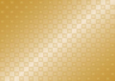 Transparent golden background. Gold gradient background of small transparent squares Stock Image