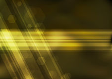 Transparent golden bokeh background Stock Photo