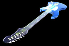 Transparent Guitar Stock Photo