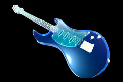 Transparent Guitar Royalty Free Stock Photos