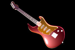Transparent Guitar Royalty Free Stock Photo