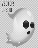 Transparent Halloween ghost Stock Images