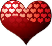 Transparent heart Royalty Free Stock Image