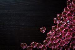 Transparent Hearts Stock Photography
