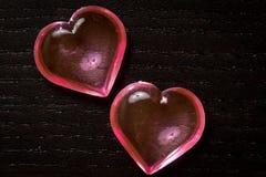 Transparent Hearts Royalty Free Stock Photos