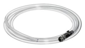 Transparent hose Royalty Free Stock Images