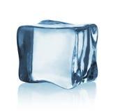 Transparent ice cube Stock Photos