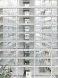 Transparent Ice Palace Stock Image